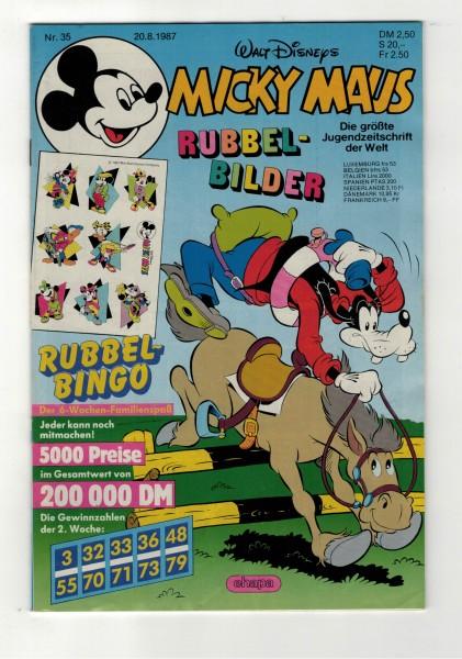 Micky Maus 1987 Nr. 35 / 20.08.1987