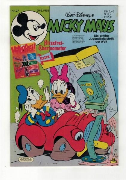 Micky Maus 1985 Nr. 27 / 29.06.1985