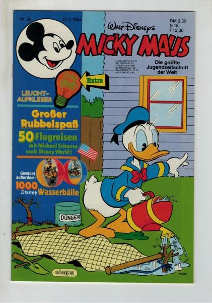 Micky Maus 1984 Nr. 26 / 23.06.1984