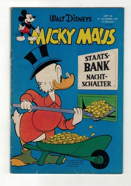 Micky Maus 1961 Nr. 48 / 25.11.1961