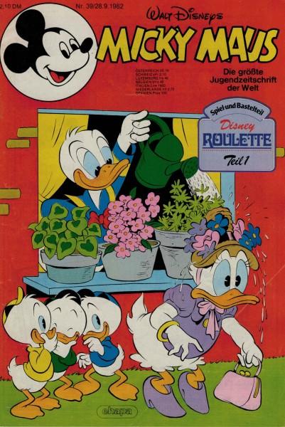 Micky Maus 1982 Nr. 39 / 28.09.1982