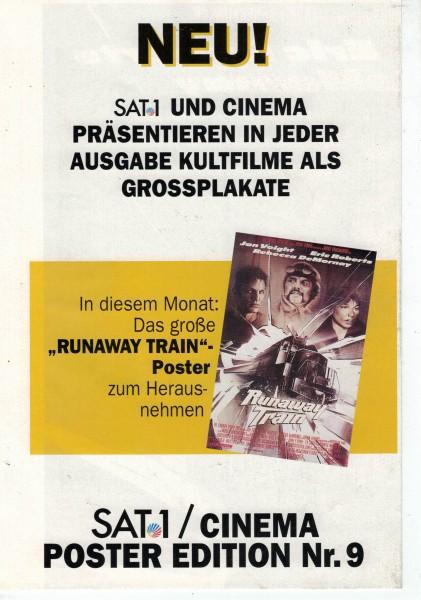 Cinema Poster Edition Nr. 09 - Runaway Train