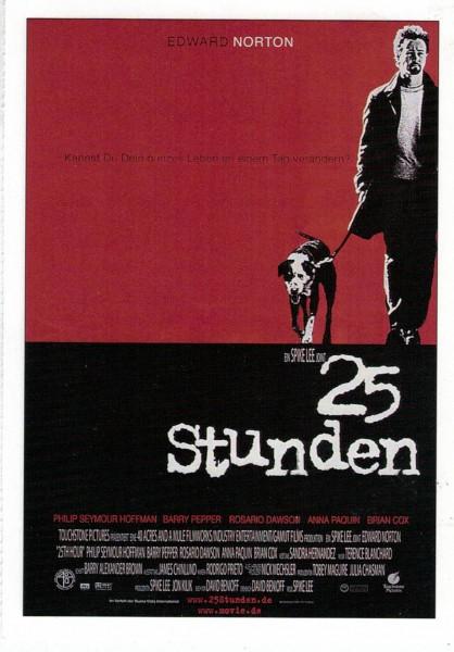 """Cinema Filmkarte """"25 Stunden"""""""