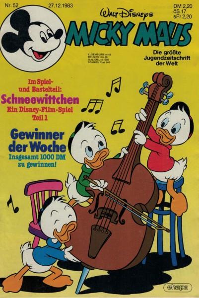 Micky Maus 1983 Nr. 52 / 27.12.1983