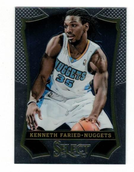 Basketballkarte - KENNETH FARIED - Panini - Select