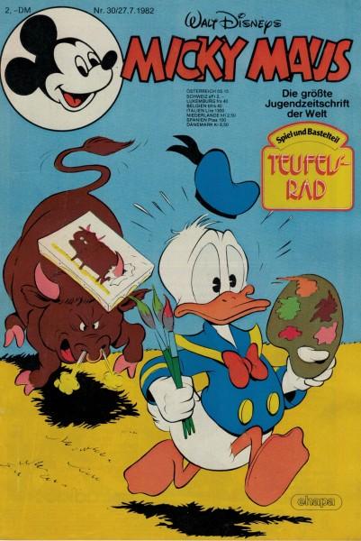 Micky Maus 1982 Nr. 30 / 27.07.1982