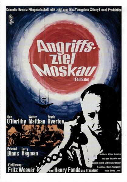 "Cinema Filmkarte ""Angriffsziel Moskau"""