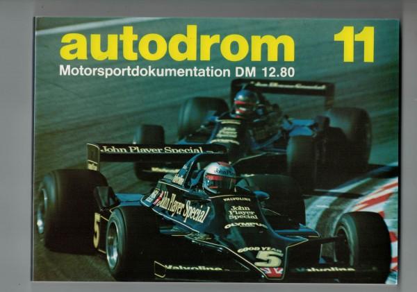 autodrom 11 - Motorsportdokumentation Ausgabe 1979