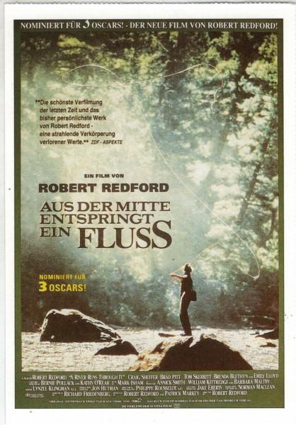 """Cinema Filmkarte """"Aus der Mitte entspringt ein Fluß"""""""