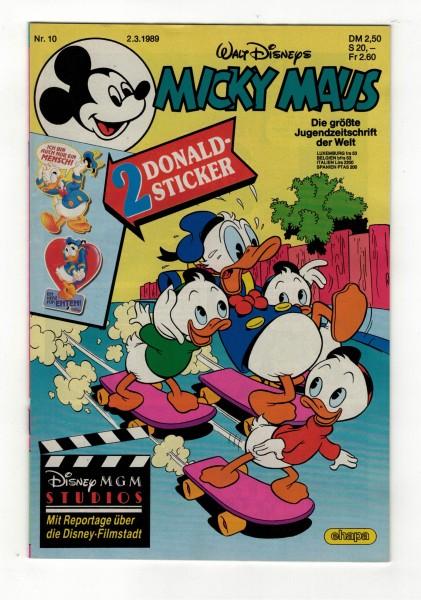 Micky Maus 1989 Nr. 10 / 02.03.1989