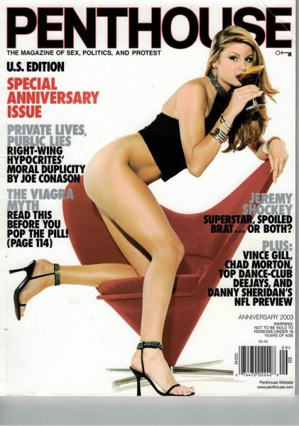 Penthouse US Edition 2003-Jubiläumsausgabe