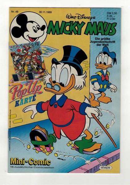 Micky Maus 1989 Nr. 49 / 30.11.1989
