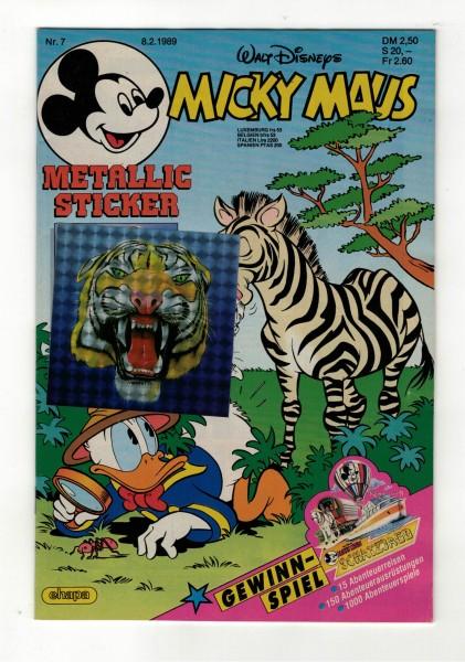 Micky Maus 1989 Nr. 07 / 08.02.1989