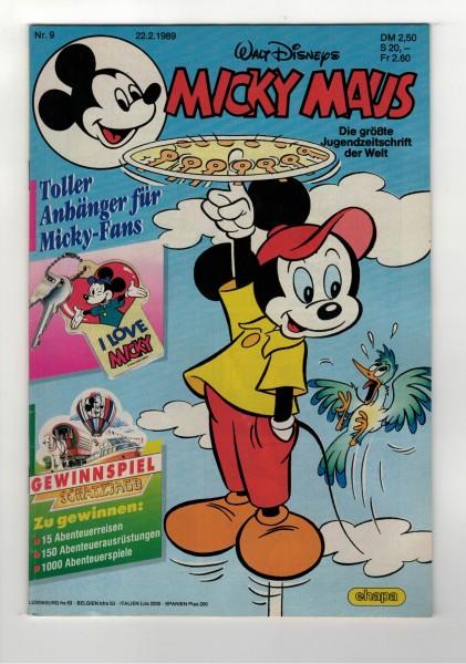 Micky Maus 1989 Nr. 09 / 22.02.1989