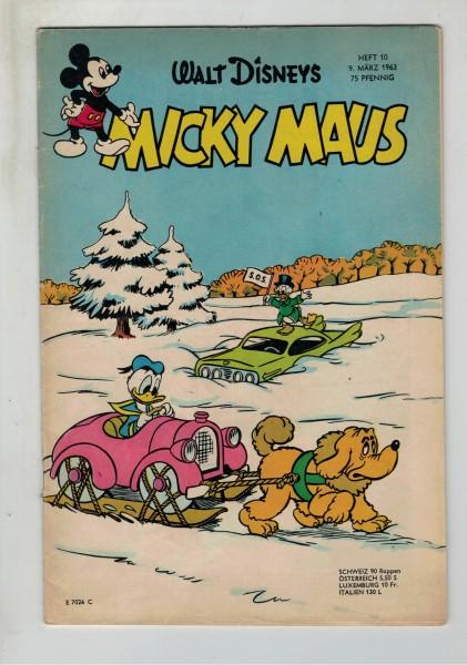 Micky Maus 1963 Nr. 10 / 09.03.1963