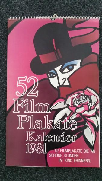 Filmplakate Kalender 1981