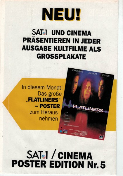 Cinema Poster Edition Nr. 05 - Flatliners