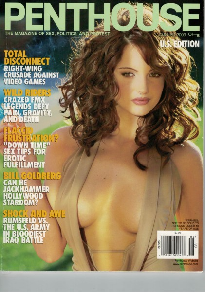 Penthouse US Edition 2003-08 August