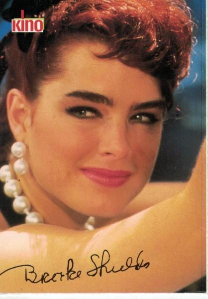 Kino-Autogrammkarte - Brooke Shields