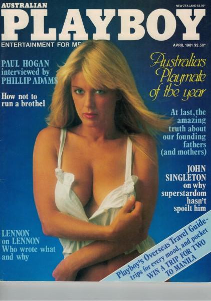Playboy Australien 1981-04 April