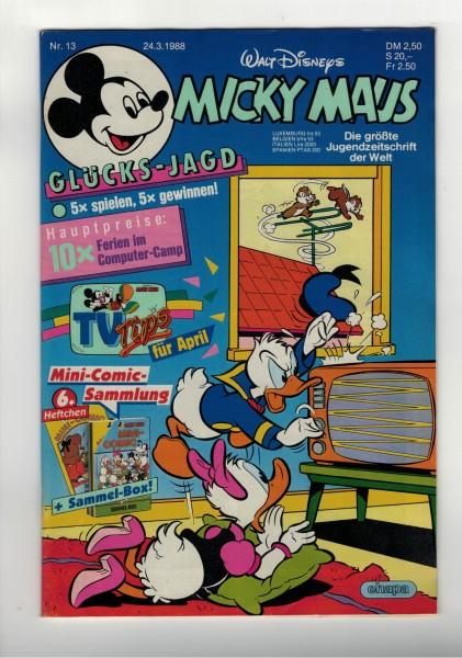 Micky Maus 1988 Nr. 13 / 24.03.1988