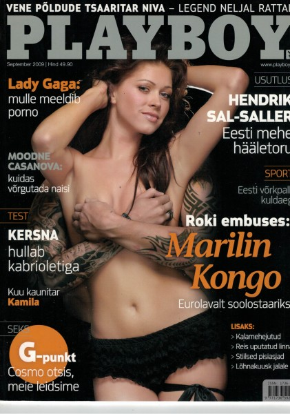 Playboy Estland 2009-09 September