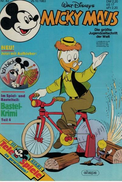 Micky Maus 1983 Nr. 43 / 25.10.1983