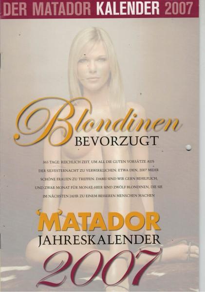 Matador Kalender 2007