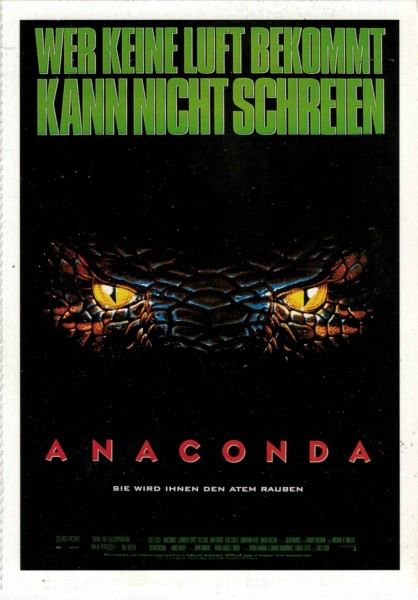 "Cinema Filmkarte ""Anaconda"""
