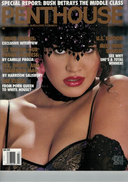 Penthouse US Edition 1992-03 März