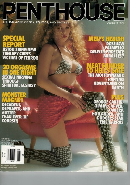Penthouse US Edition 1999-08 August