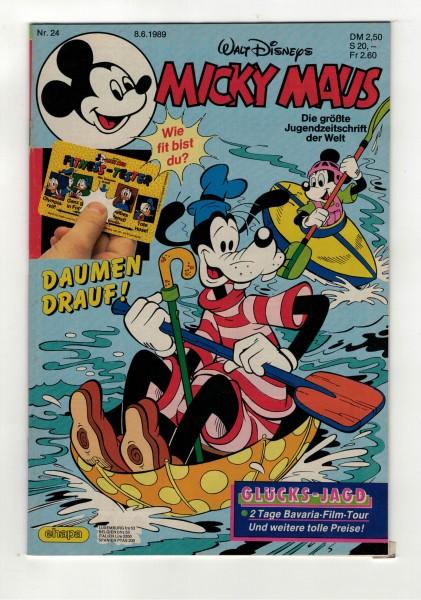 Micky Maus 1989 Nr. 24 / 08.06.1989