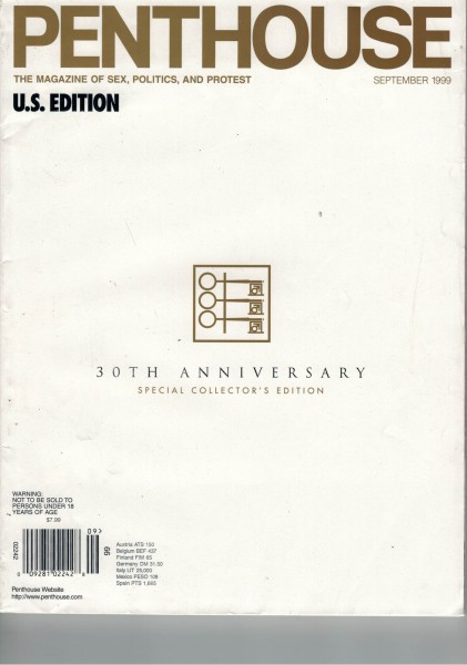 Penthouse US Edition 1999-09 September 30th Anniversary
