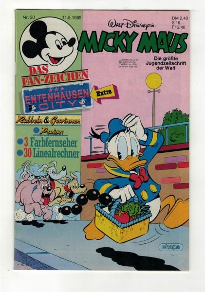 Micky Maus 1985 Nr. 20 / 11.05.1985