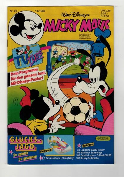 Micky Maus 1988 Nr. 23 / 01.06.1988