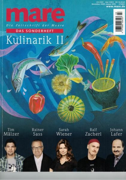mare - Die Zeitschrift der Meere - Das Sonderheft Kulinarik II 2009/2010