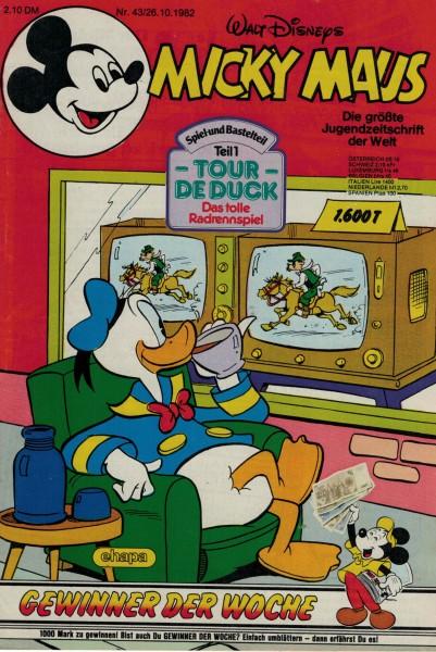 Micky Maus 1982 Nr. 43 / 26.10.1982