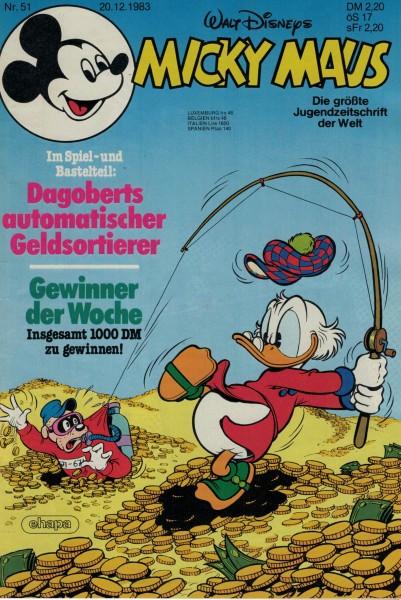 Micky Maus 1983 Nr. 51 / 20.12.1983