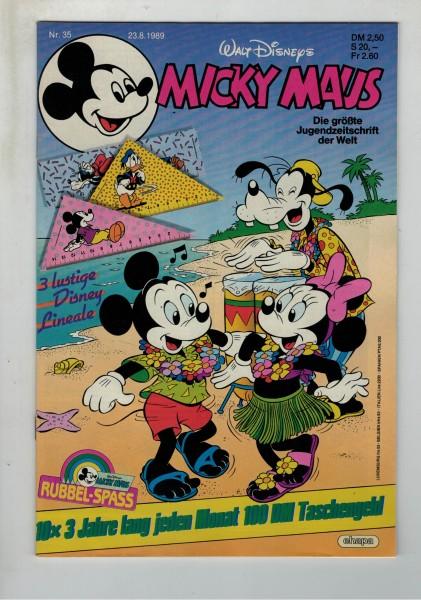 Micky Maus 1989 Nr. 35 / 23.08.1989
