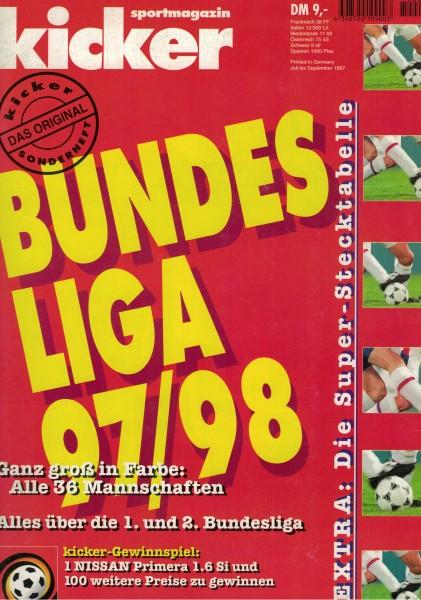 Kicker Sonderheft Bundesliga 1997/98
