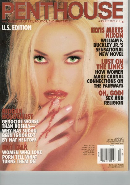 Penthouse US Edition 2001-08 August