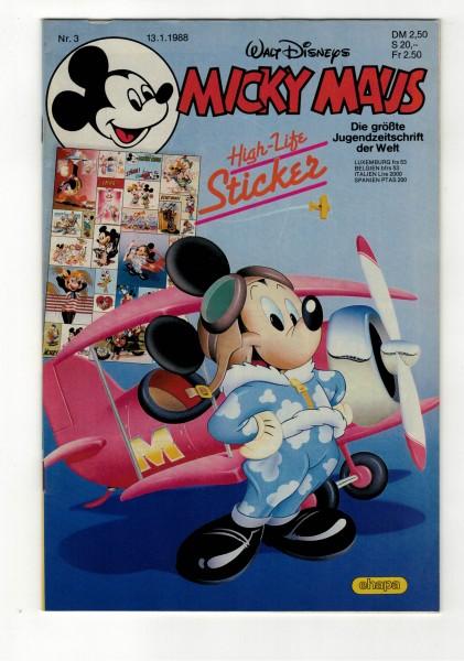 Micky Maus 1988 Nr. 03 / 13.01.1988