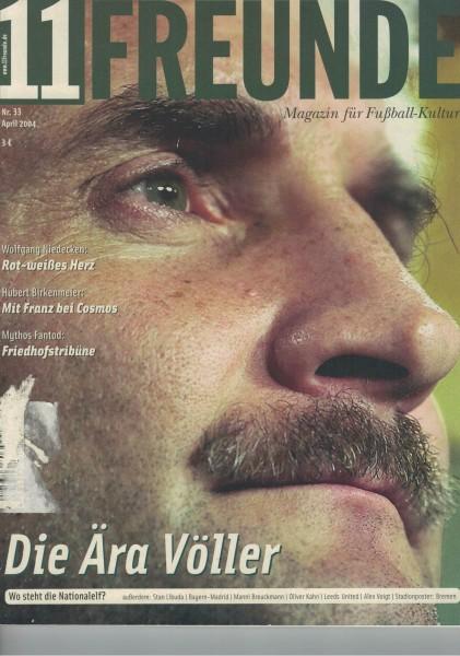 11 Freunde - 2004-04 April Heft Nr. 33