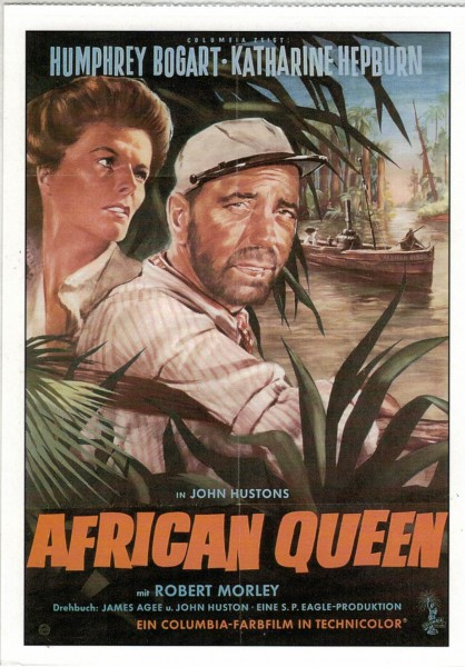 "Cinema Filmkarte ""African Queen"""