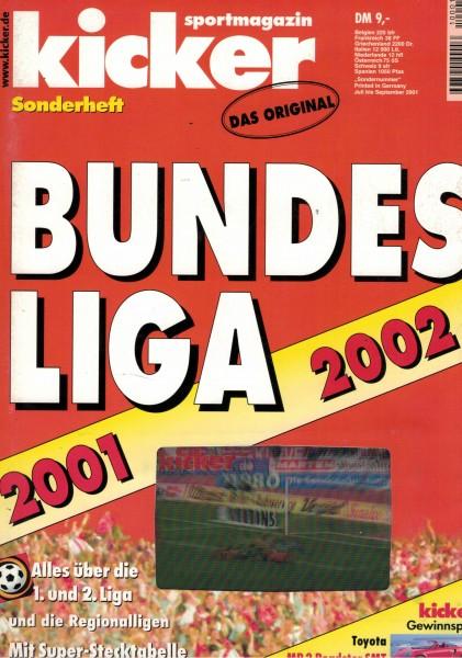 Kicker Sonderheft Bundesliga 2001/02
