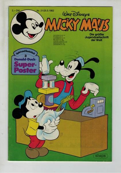 Micky Maus 1982 Nr. 21 / 25.05.1982
