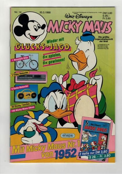 Micky Maus 1988 Nr. 14 / 30.03.1988