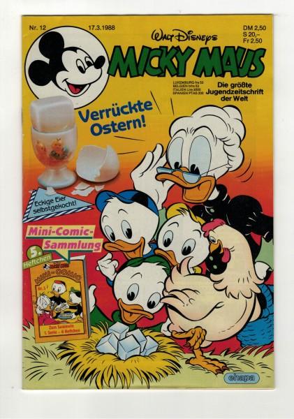 Micky Maus 1988 Nr. 12 / 17.03.1988