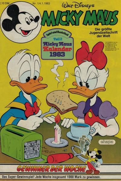 Micky Maus 1983 Nr. 01 / 04.01.1983