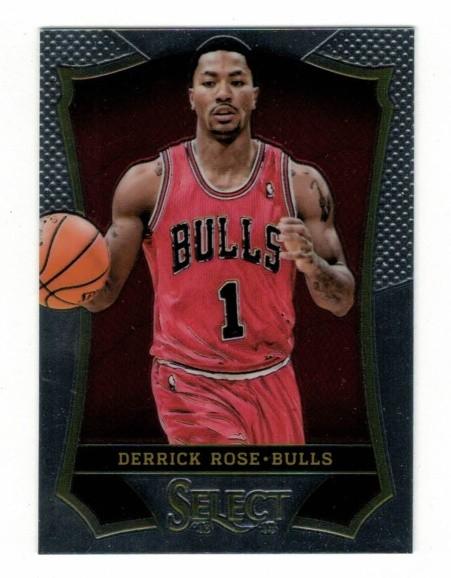 Basketballkarte - DERRICK ROSE - Panini - Select